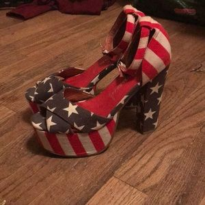 Jeffrey Campbell americana heels